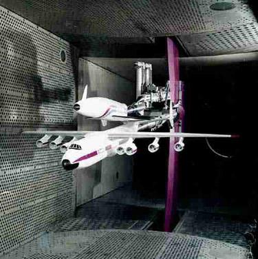 Испытание процесса разделения в аэродинамической трубе