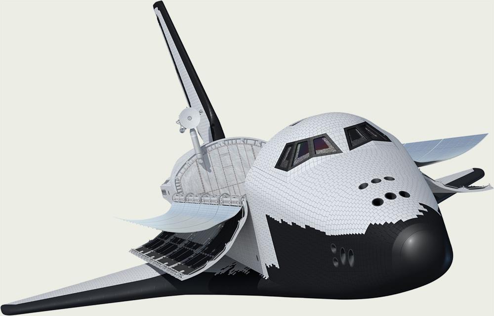苏联航天飞机 小数点