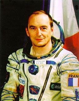 Французский астронавт Жан-Пьер Эньере (Jean-Pierre Haignere)