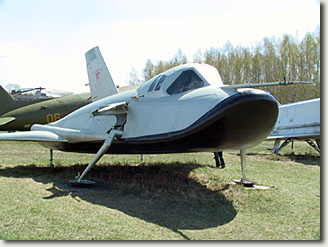 Spiral's '105.11' prototype displayed in the Russian Air Force museum in Monino. May 2004