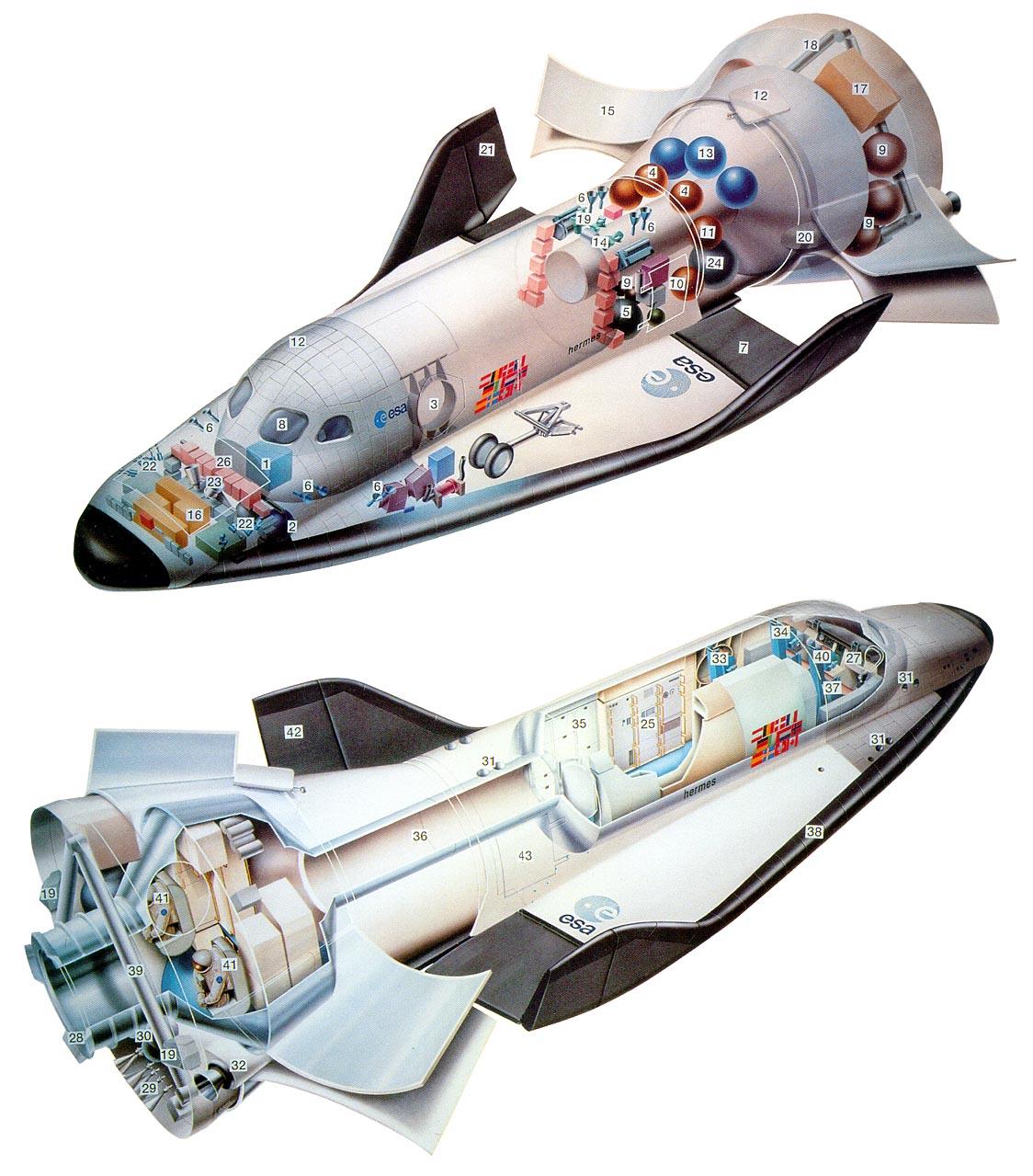 hermes space shuttle -#main