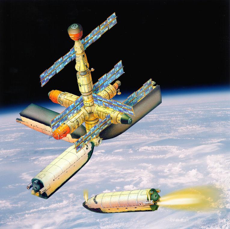 D'une navette comme module ISS Pg41